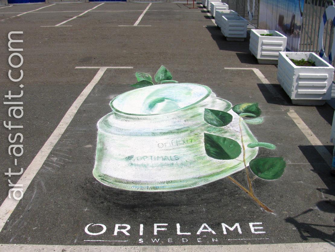 3D рисунок Oriflame