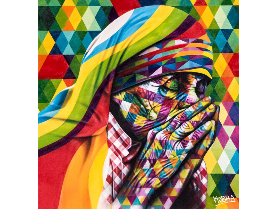 Лучший стрит-арт 2015 - Eduardo Kobra